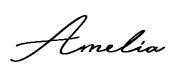 sign amelia